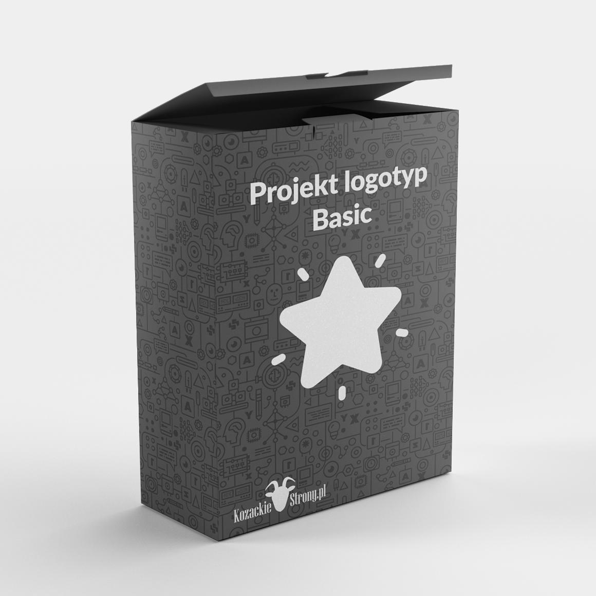 Projekt logotypu Basic KozackieStrony.pl