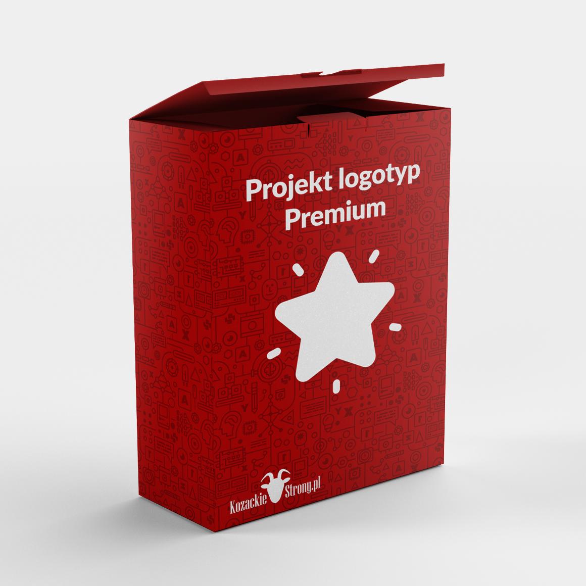 Projekt logotypu Premium KozackieStrony.pl
